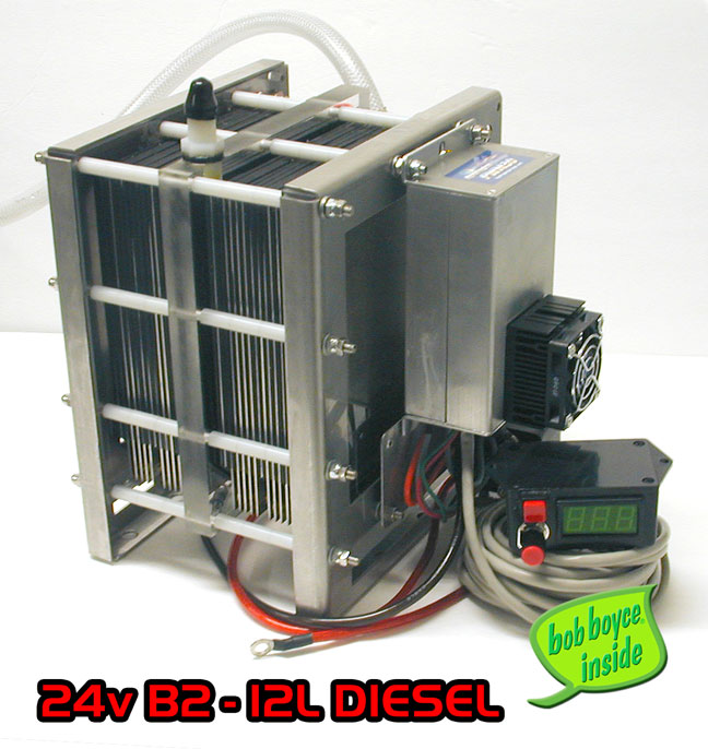 24 Volt/12Volt B2 • HHO Trucker Cell Kit - Click Image to Close