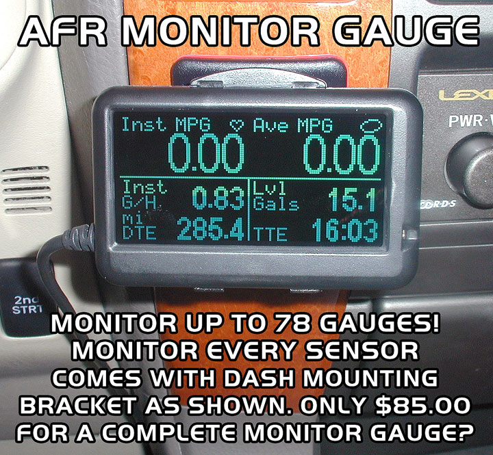 AFR MONITOR GAUGE - Click Image to Close