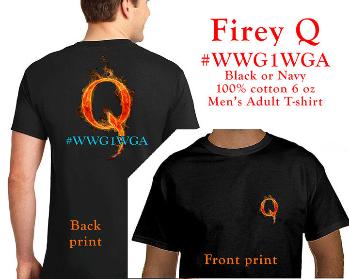Men's Firey Q Shirt - Click Image to Close