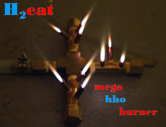 H2eat Mega HHO Burner