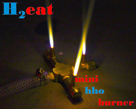 H2eat Mini HHO Burner