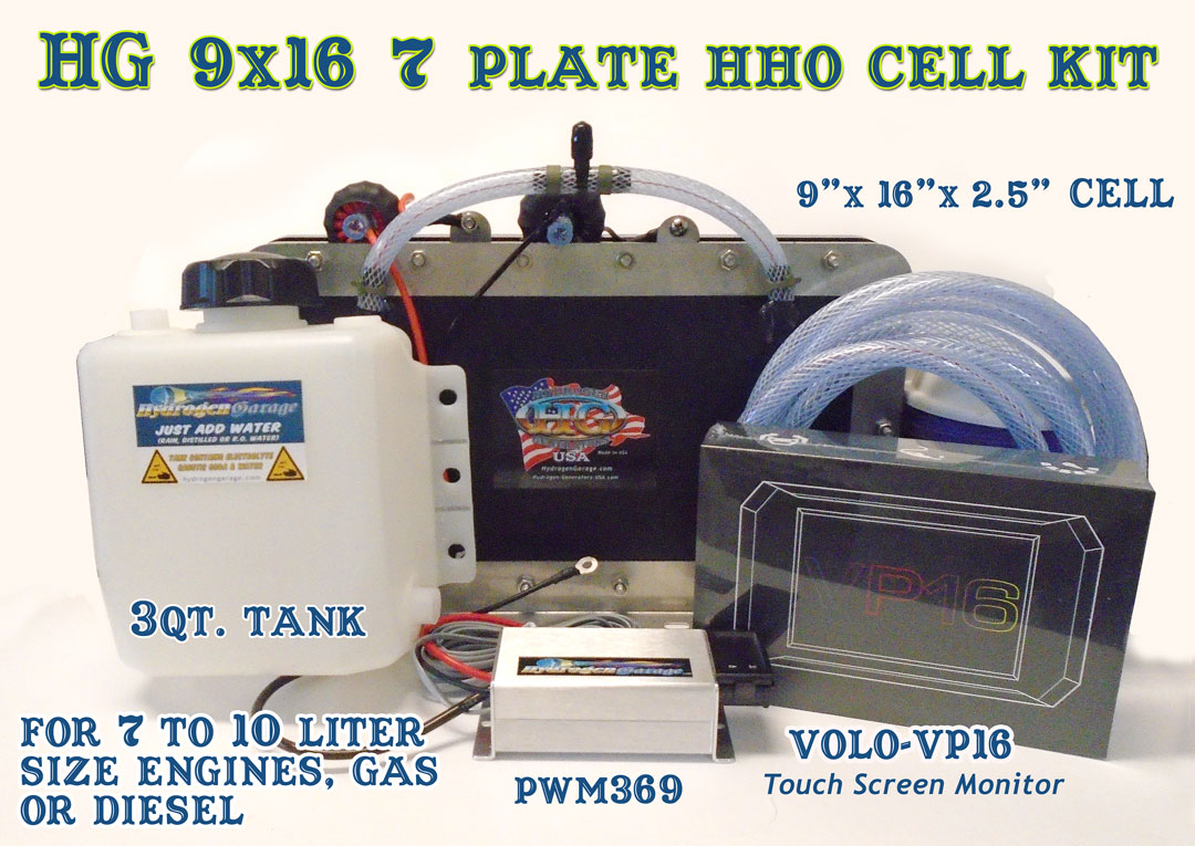 HG 9X16 7plate Hydroxy Gas™ Cell System