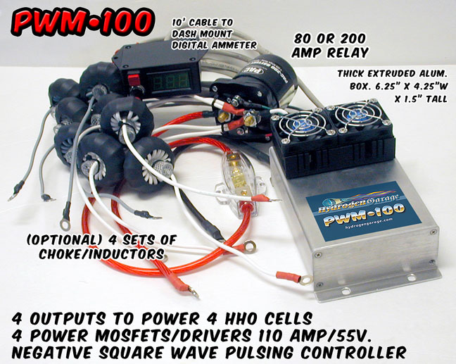HHO PWM100 w/Digital Display - Click Image to Close