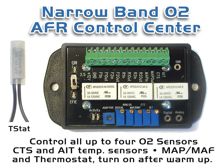 Narrow Band AFR Control Center