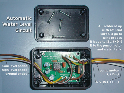 Automatic Water Level Circuit