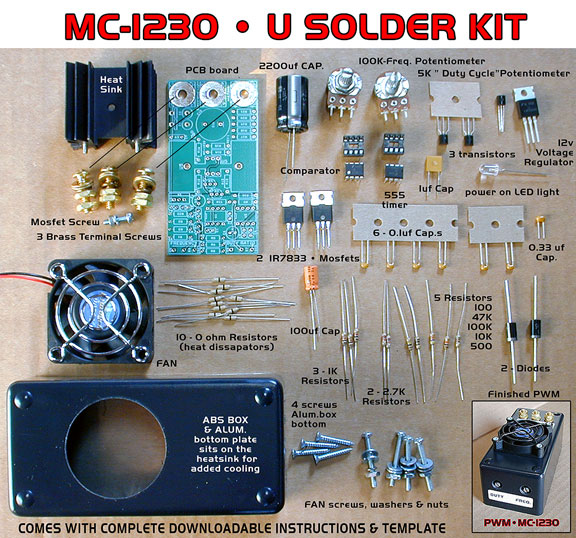 MC-1230 PWM ( U solder kit)