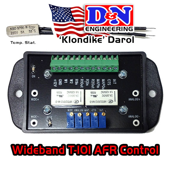Wide Band AFR Control Center T-101